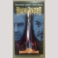 Highlander Director's Cut VHS
