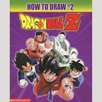 How To Draw Dragonball Z Vol. 2