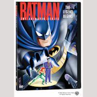 Batman the Animated Series: Legend Begins DVD