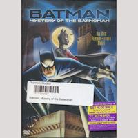 Batman: Mystery of the Batwoman DVD