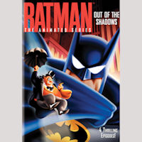 BATMAN ANIMATED OUT OF THE SHADOWS DVD