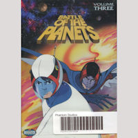 Battle of the Planest DVD 3