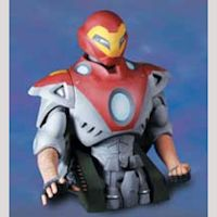 ULTIMATE IRON MAN BUST