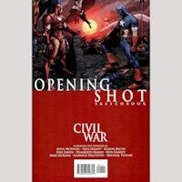 CIVIL WAR OPENING SHOTS SKETCHBOOK