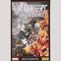 Avengers Invaders Scketchbok