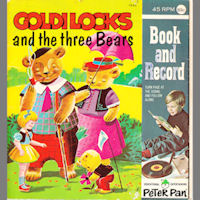 Goldilocks and the Three Bears Comic and Record