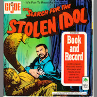 GI Joe The Search for the Stolen Idol Record Book