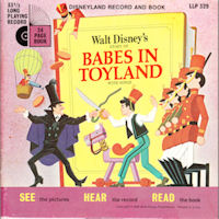 Walt Disney's Babes in Toyland Comic and Record