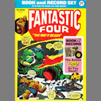 Fantastic Four The Way It Began Record Comic