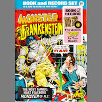 The Monster of Frankenstein Comic and Record