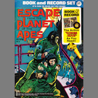 Escape From the Planet of the Apes Comic and Record