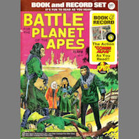 Battle for the Planet of the Apes Comic and Record