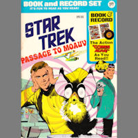 Star Trek Passage to Moauv Comic and Record